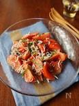 トマトとシラスのさっぱりサラダ