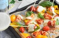 オーブンで簡単!ピザマルゲリータ風焼き鳥*