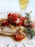 鶏胸肉のパセリ&トマトソース