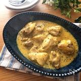 簡単なのに深い味わい♡鶏もも肉のカレーヨーグルト煮