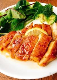 『鶏肉の照り焼きマスタードソテー』