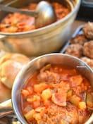 【再現レシピ】ラピュタ♡パズーが頼んだ肉団子2つとスープ♡