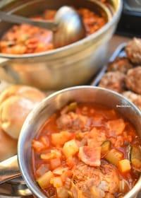 『【再現レシピ】ラピュタ♡おじさん!肉だんご2つね!のスープ♡』