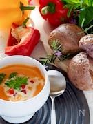 カラフルパプリカのポタージュスープ