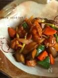 美味い♡鶏肉と野菜の甘酢あん炒め