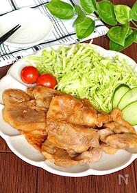 『絶対間違いない味♡黄金比で豚肉の生姜焼き』