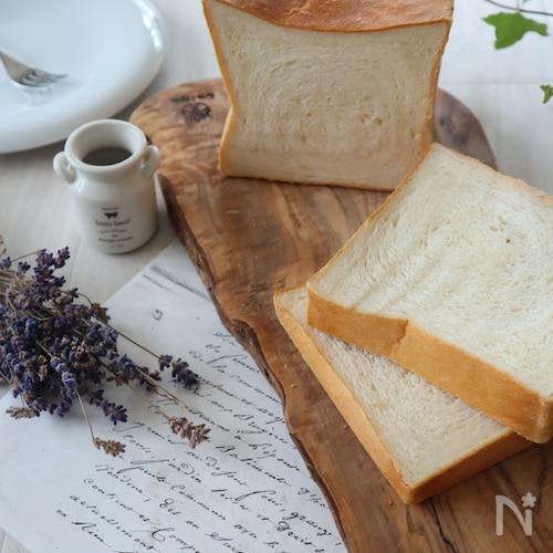 ミルク香る♪もちふわ食パン