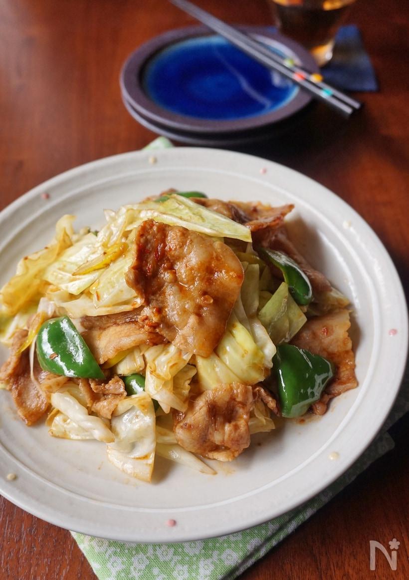 7. 旨辛味でご飯がすすむ!キャベツたっぷり回鍋肉
