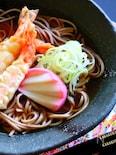 一番だしで作る【本格】天ぷら蕎麦