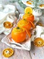 ゴロゴロ果肉入り♪丸ごとオレンジゼリー
