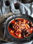 高圧力鍋なら超簡単 オックステールのワイントマト煮込