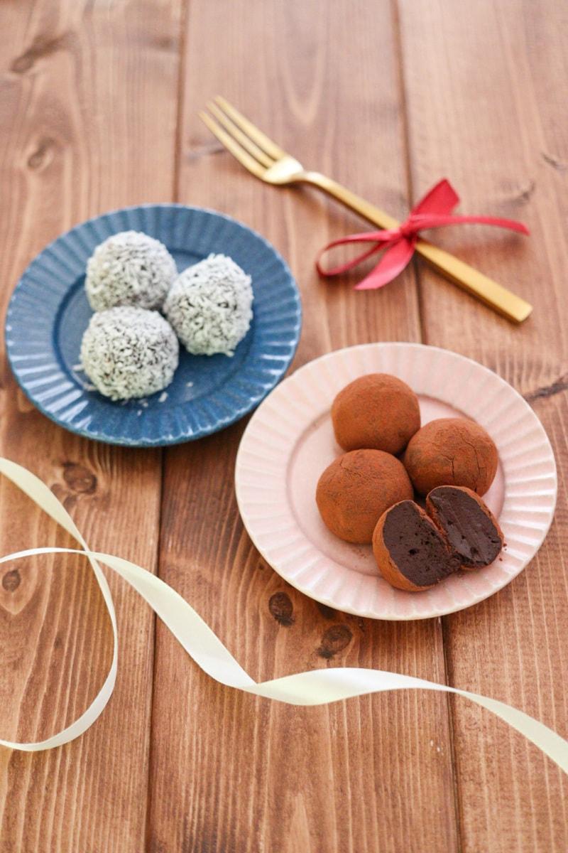 チョコ 作り方 トリュフ