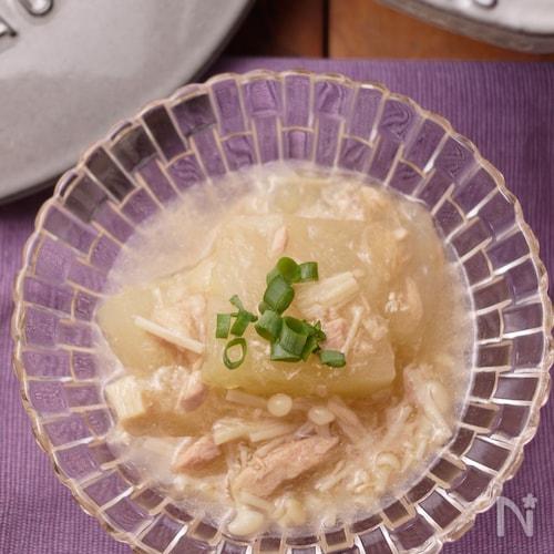 冬瓜とシーチキンの煮物*温でも冷でも美味しい
