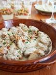 鶏肉のタイム&アーモンドクリーム煮