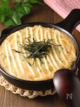 トースターで簡単♪明太チーズとろろ焼き