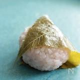 電子レンジで簡単!関西風の桜餅