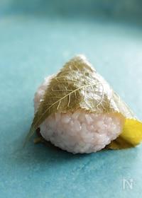 『電子レンジで簡単!関西風の桜餅』