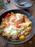 旨味たっぷり〝生秋鮭のチーズちゃんちゃん焼き〟