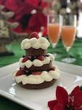 『クリスマスツリーケーキ』