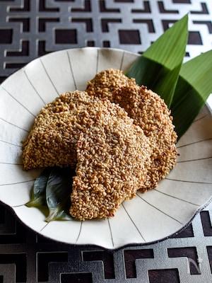 鶏むね肉の利休焼き【下味冷凍OK】