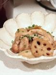 鶏と根菜のこっくり煮