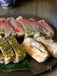 刺身や〆さばで作る!簡単だけど本格押し寿司