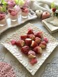 春の香り~いちごとホワイトチョコヨーグルトムース