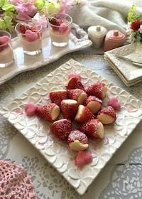 『春の香り~いちごとホワイトチョコヨーグルトムース』