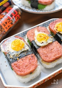 『激うま♡焼き肉のタレde最強スパムおむすび♡』