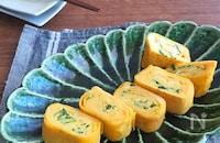 簡単アレンジ卵焼き☆お弁当やおつまみに♪ニラたま