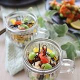 枝豆を楽しむ♪夏の和ランチ➁枝豆と豆腐のサラダ
