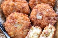 【胸様レシピ】ウィンナー入り♪コンソメWチーズナゲット♪