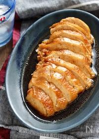『むね肉de煮るだけ♡鶏チャーシュー【#作り置き #お弁当】』