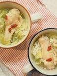 鶏ときゃべつのぽかぽかスープ