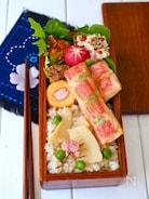 トースターで簡単!カニカマと豆腐のミニ春巻き