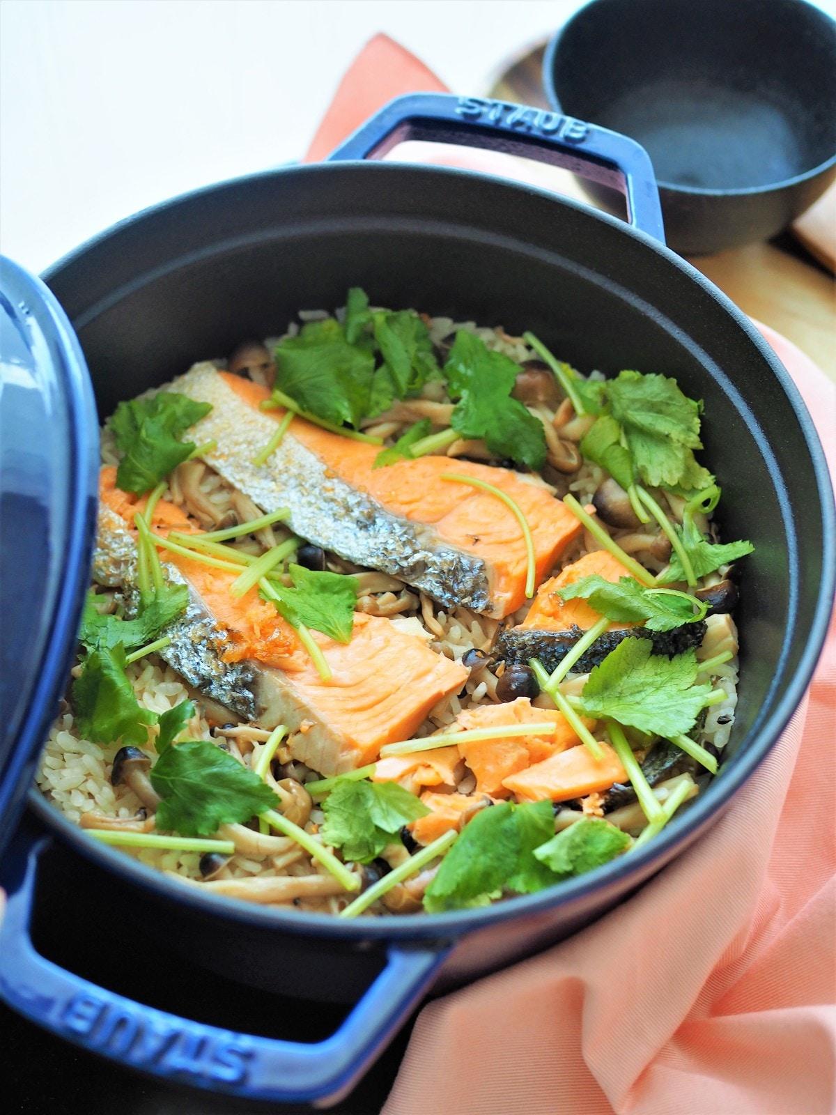鮭 炊き込み ご飯 レシピ 人気
