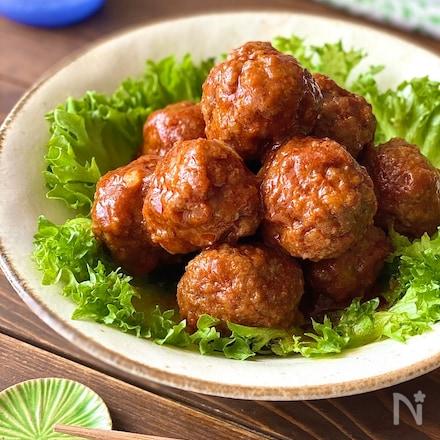 レンジで簡単!まるで煮込んだ味わいの絶品ミートボール