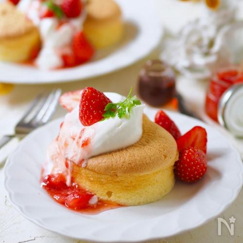 ホット ケーキ ミックス で スフレ パン ケーキ