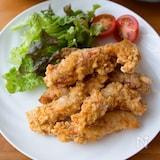 『やわらか鶏むね肉の唐揚げ』#お弁当#冷めても美味しい
