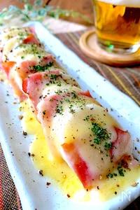 【おうち居酒屋】すっごく簡単‼︎ほっくり長芋ベーコンチーズ