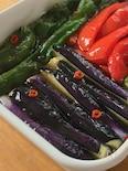 【つくりおき】麺つゆで簡単に!夏野菜の南蛮漬け。