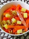 胡桃&チーズのモロカンサラダ風