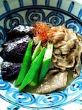茄子と牛肉の煮びたし