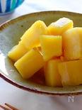 しっとり甘い、優しい酸味のさつま芋のレモン煮