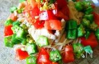 栄養満点!さっくり&プチプチの食感が楽しい「オクラ」を使ったレシピ
