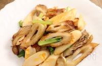 免疫力アップ!舞茸と小松菜の醤油炒め