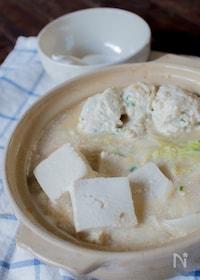 『スープが美味しすぎるクリーミー豆乳鍋』