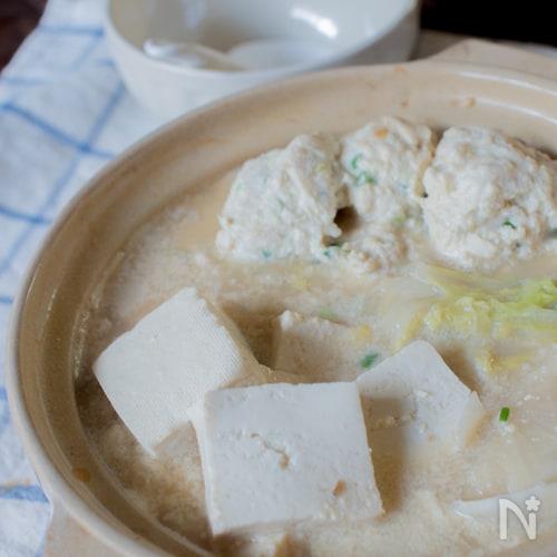 スープが美味しすぎるクリーミー豆乳鍋