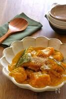 かぼちゃとツナのとろーり煮