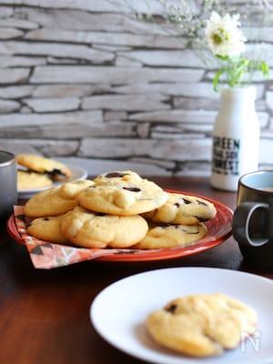 マカダミアナッツのソフトチョコクッキー